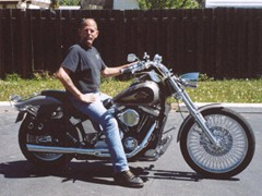 Barry Broom 1997 FXST