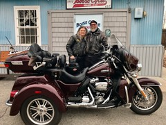 Cliff and Teri Jo Gaylin 2019 Tri-Glide