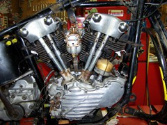 Mike Heath 1947 Knucklehead Engine